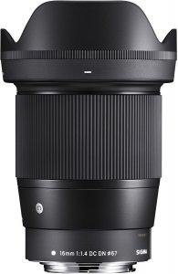 Sigma 16 mm F1.4 DC DN  Contemporary -objektiivi, Canon EF-M