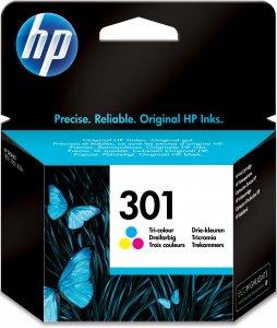 HP 301 -mustekasetti, kolmiväri, normaali kapasiteetti