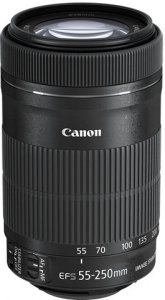 Canon EF-S 55-250 mm f/4-5,6 IS STM -teleobjektiivi