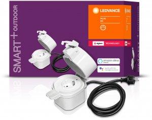 Ledvance Smart+ Outdoor Plug -etäohjattava pistorasia ulkokäyttöön, IP44