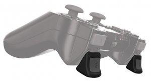 Gioteck Real Triggers for Sony DualShock 3 Joypads -liipasinlisäkkeet, PS3