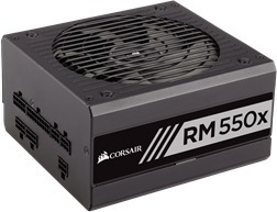 Corsair RM550x, 80 PLUS Gold -ATX-virtalähde, 550 W, kuva 2