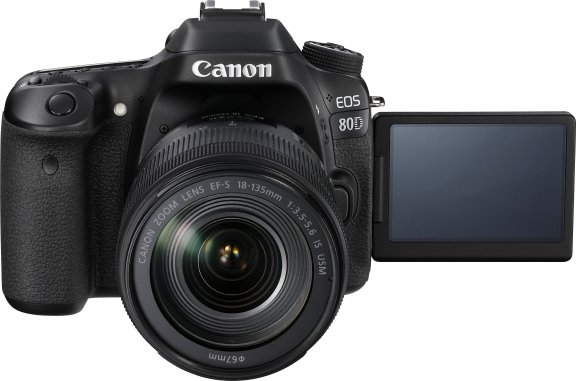 Canon EOS 80D -järjestelmäkamera + 18-135 IS USM -objektiivi, kuva 3