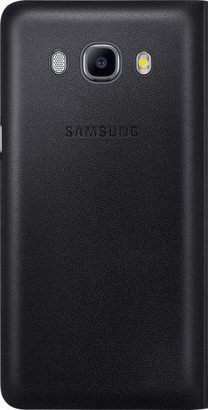 Samsung Galaxy J5 (2016) Flip Wallet -suojakansi, musta, kuva 3