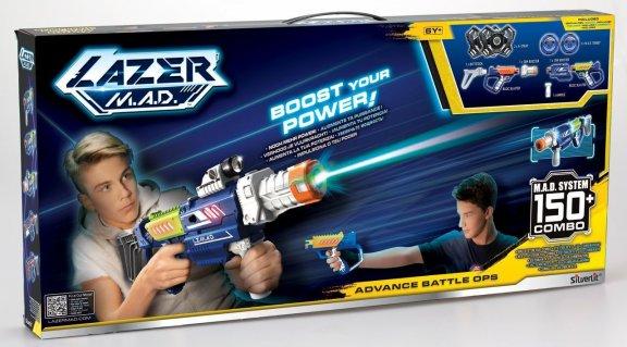 Silverlit Lazer M.A.D Advance Battle Ops -laserpyssysetti