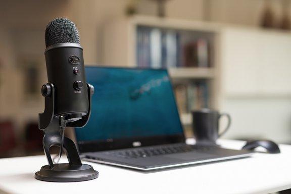 Blue Microphones Yeti Blackout -mikrofoni USB-väylään, musta, kuva 5