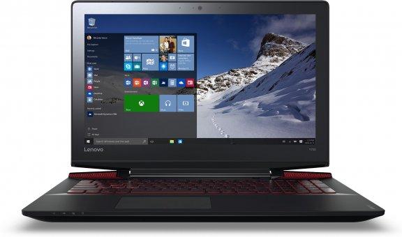 """Lenovo Ideapad Y700 15,6"""" -kannettava, Win 10 64-bit, musta, kuva 2"""
