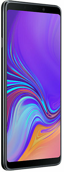 Samsung Galaxy A9 -Android-puhelin Dual-SIM, 128 Gt, musta, kuva 4