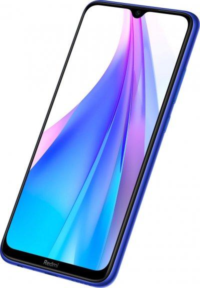 Xiaomi Redmi Note 8T -Android-puhelin Dual-SIM, 64 Gt, sininen, kuva 7