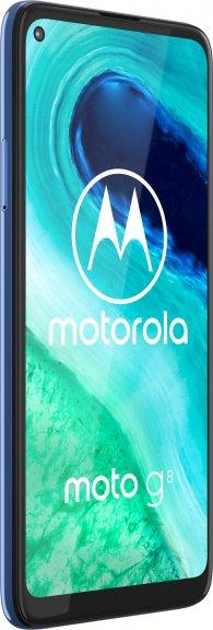 Motorola Moto G8 -Android-puhelin, sininen, kuva 3