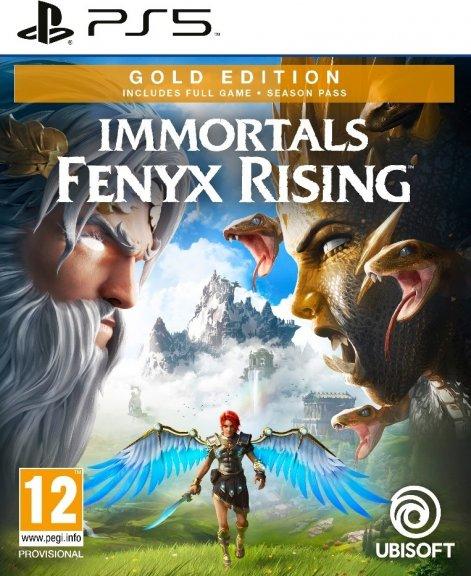 Immortals Fenyx Rising - Gold Edition -peli, PS5