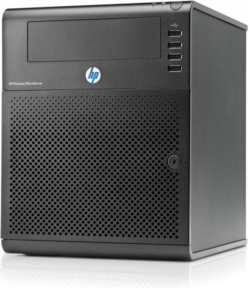HP ProLiant MicroServer 1P Turion II Neo N40L/4 GB -mikrotornipalvelin