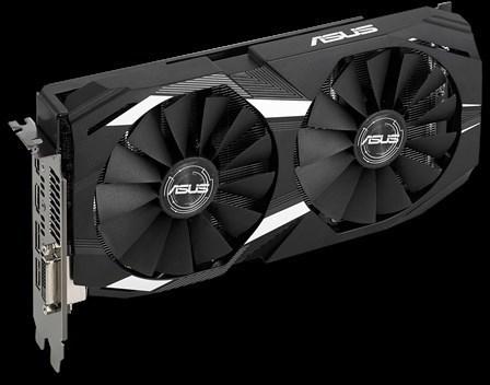 Asus DUAL-RX580-O8G Radeon RX 580 OC 8 Gt -näytönohjain PCI-e-väylään, kuva 2