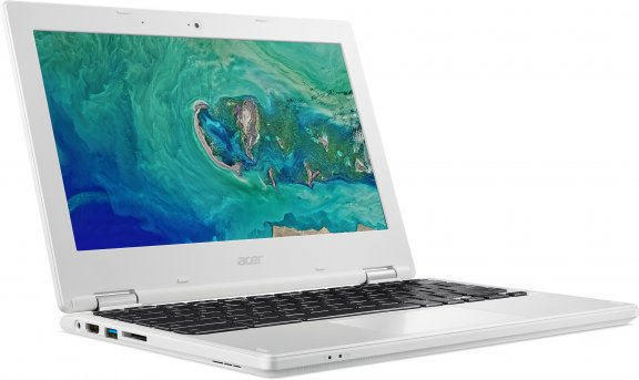 Acer Chromebook 11, valkoinen