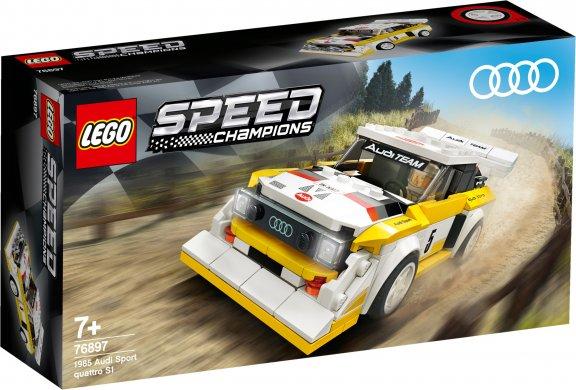LEGO Speed Champions 76897- 1985 Audi Sport quattro S1
