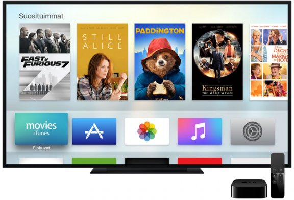 Apple TV 32 Gt mediatoistin, MGY52, kuva 8