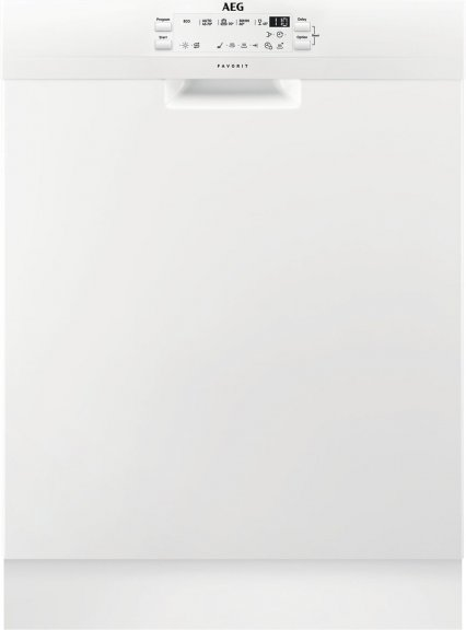 AEG FFS53630ZW -astianpesukone, valkoinen