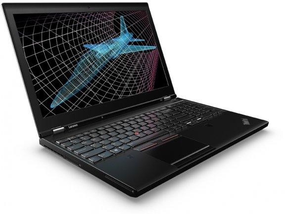 """Lenovo ThinkPad P50 15,6"""" -kannettava, Win 7 Pro"""
