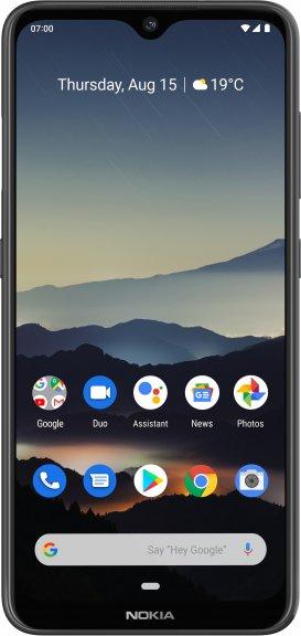 Nokia 7.2 -Android-puhelin Dual-SIM, 128 Gt, musta, kuva 2