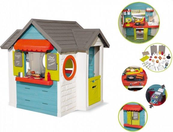 Smoby Chef House -leikkimökki ja ravintola, kuva 2