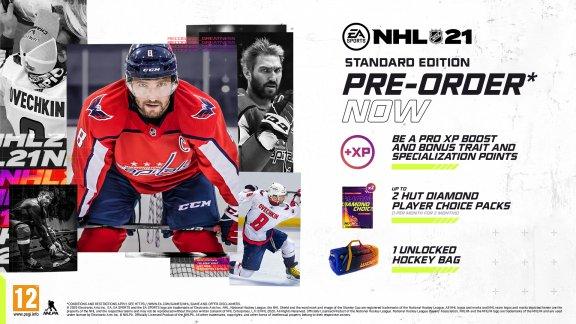 NHL 21 -peli, PS4, kuva 2