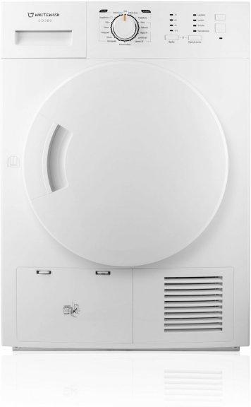 WhiteWash -pesutorni, 8 kg kondensoivalla kuivausrummulla, kuva 5