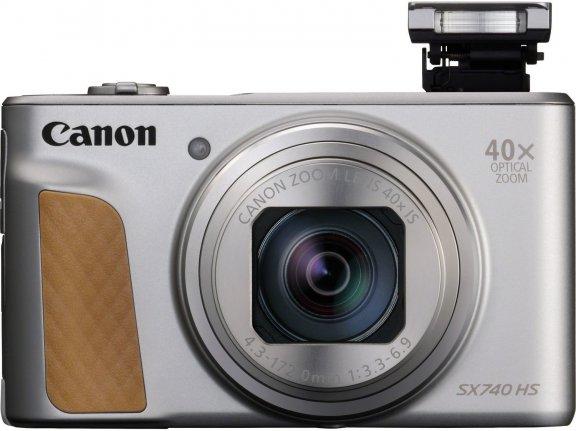 Canon Powershot SX740 HS -digikamera, hopea, kuva 3