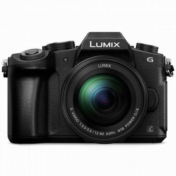Panasonic G80 -järjestelmäkamera 12-60 mm:n objektiivilla