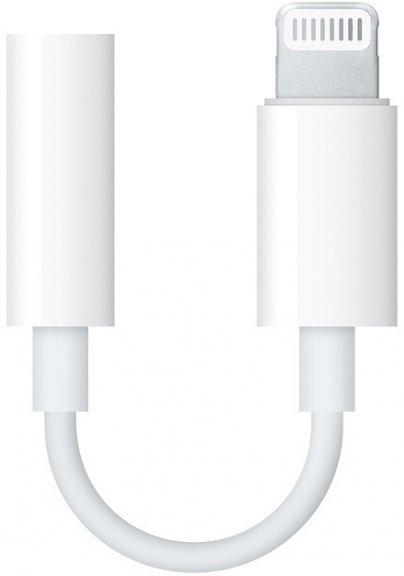 Apple Lightning - 3,5 mm -kuulokeliitäntä-sovitin, MMX62, kuva 2