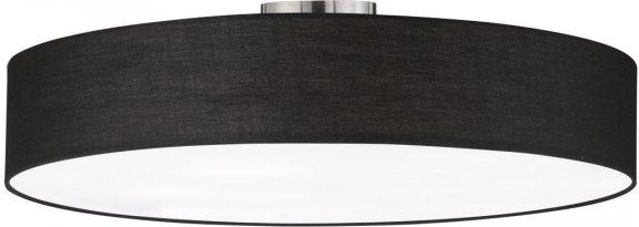 Trio Hotel -kattovalaisin, E27, 65 cm, musta