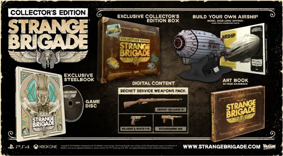 Strange Brigade - Collector's Edition -peli, PS4, kuva 2