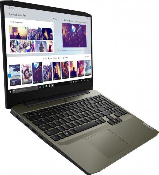 """Lenovo IdeaPad Creator 5 - 15,6"""" -kannettava, Win 10 Pro 64-bit, tummanvihreä, kuva 4"""