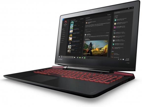 """Lenovo Ideapad Y700 15,6"""" -kannettava, Win 10 64-bit, musta, kuva 3"""