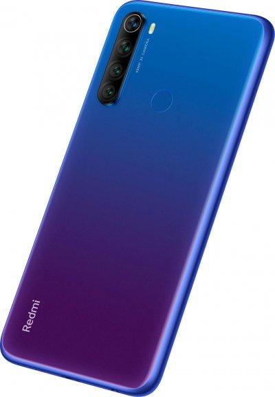 Xiaomi Redmi Note 8T -Android-puhelin Dual-SIM, 64 Gt, sininen, kuva 8