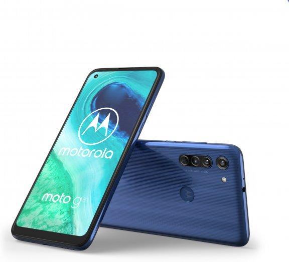 Motorola Moto G8 -Android-puhelin, sininen