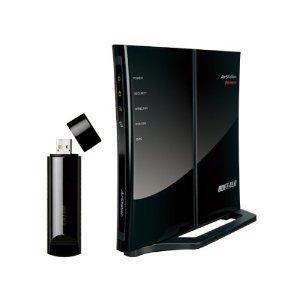 Buffalo Nfiniti WHR-G300N V2 300Mbps Router Starter Kit - WLAN-reititin & USBV WLAN-adapteri