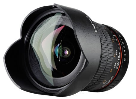 Samyang 10 mm F/2,8 ED AS NCS CS, Canon EF-S