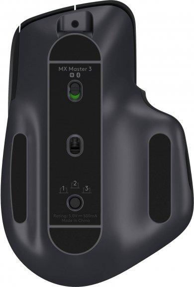 Logitech MX Master 3 -hiiri, musta, kuva 3