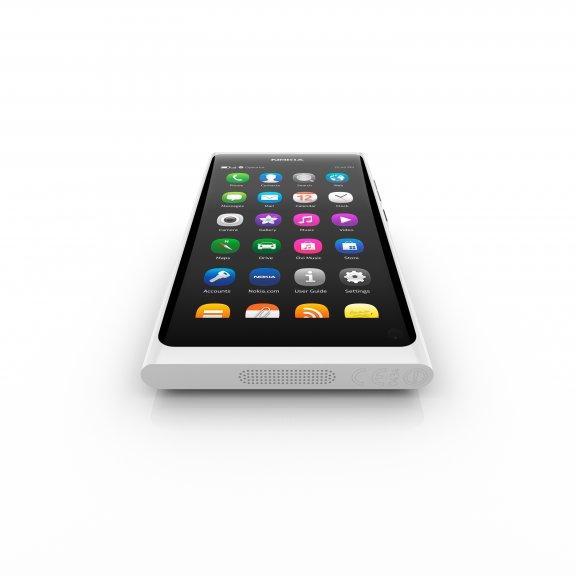 Nokia N9 älypuhelin 64GB, valkoinen, kuva 3