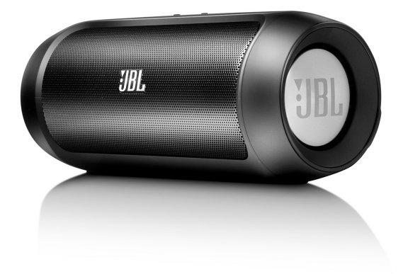 JBL Charge 2 lataava Bluetooth-matkakaiutin, musta