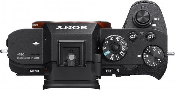 Sony α7s II -mikrojärjestelmäkamera, runko, kuva 2