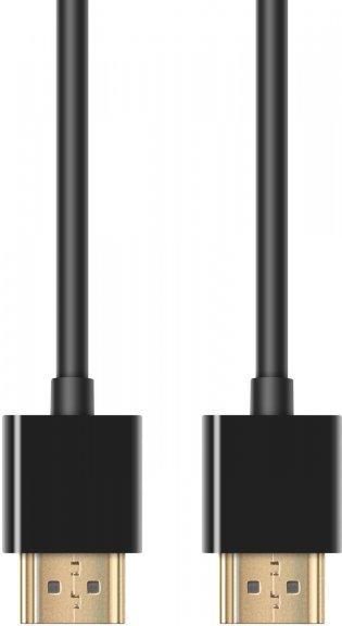 Fuj:tech Profinity 4K HDMI High Speed with Ethernet -kaapeli, 1,8 m, musta