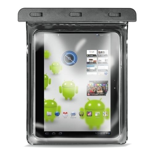"""Puro Waterproof Case Tablet 10.1""""   -vesitiivis suojalaukku, musta, kuva 4"""