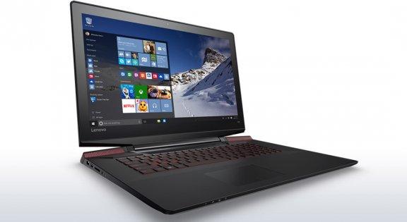 """Lenovo Y700 17,3"""" -kannettava, Win 10 64-bit, musta"""