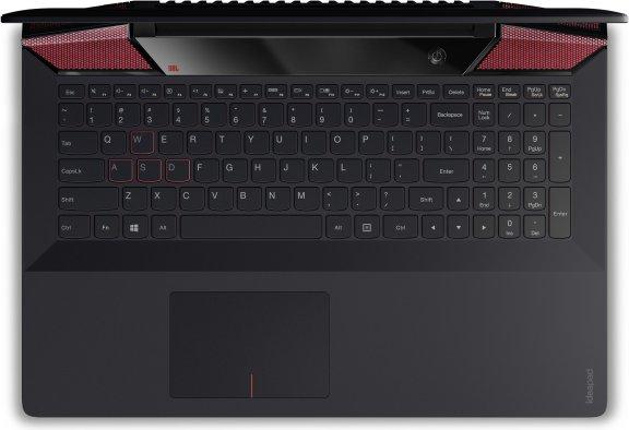 """Lenovo Ideapad Y700 15,6"""" -kannettava, Win 10 64-bit, musta, kuva 7"""