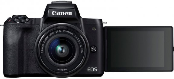 Objektiivi 45 Eos Canon M50 rjestelm Mm Mikroj kameraMusta15 TlKJc1F3
