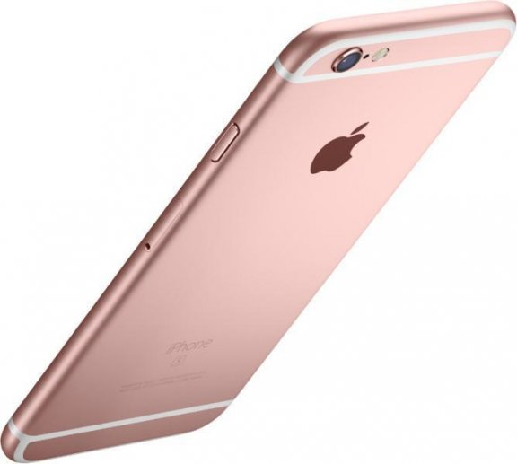 Apple iPhone 6s 16 Gt  -puhelin, ruusukulta, MKQM2, kuva 3
