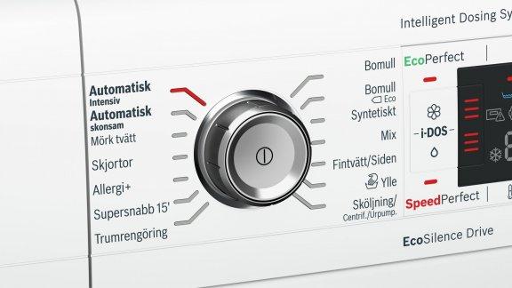 Bosch WAWH26B9SN Serie 8 -pyykinpesukone, valkoinen, kuva 3