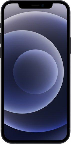 Apple iPhone 12 128 Gt -puhelin, musta, MGJA3