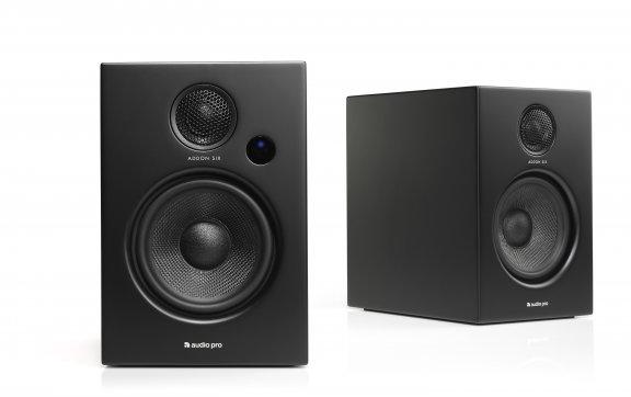 Audio Pro Addon Six aktiivikaiutinpari, musta